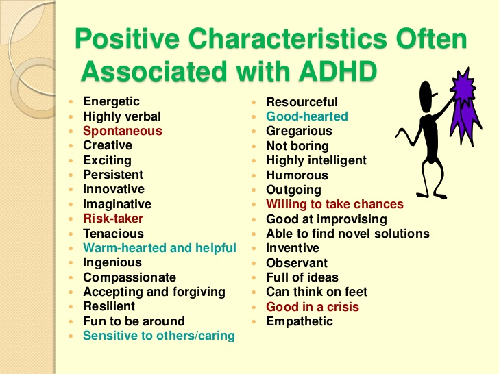 Celebrate The Positive Qualities Of Adhd Adhd Center For Success